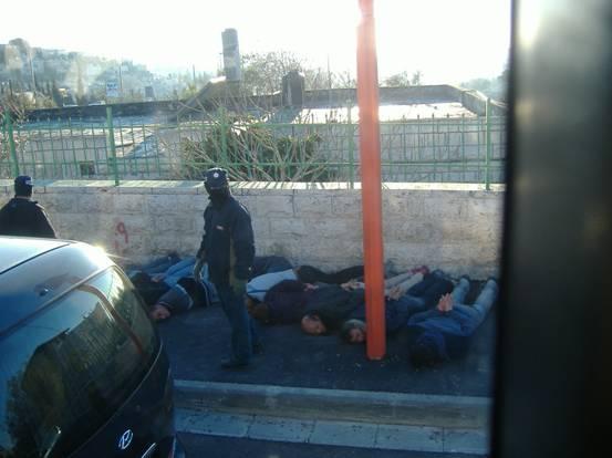 israele posto di blocco